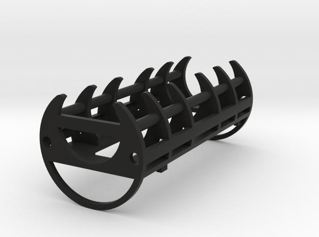 "1.24"" 18650/Igniter 2/SC 2/S2 Holder in Black Natural Versatile Plastic"