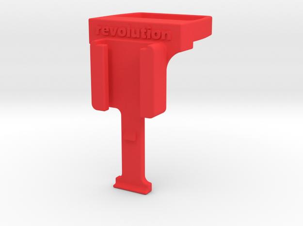 Fizik ICS / Cygolite Adapter V2 in Red Processed Versatile Plastic