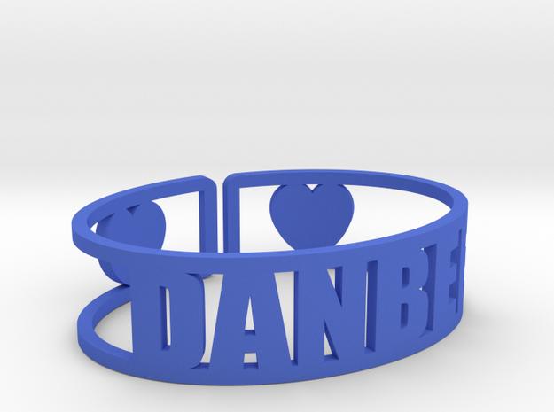Danbee Cuff in Blue Processed Versatile Plastic