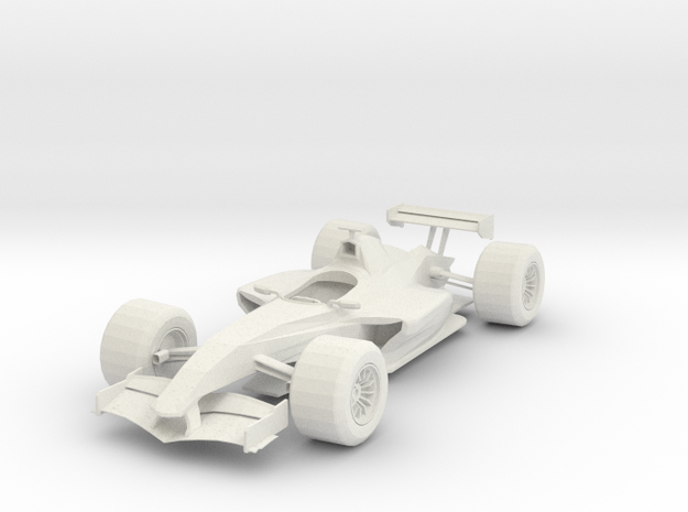 Formula 1 IDT in White Strong & Flexible: 1:8