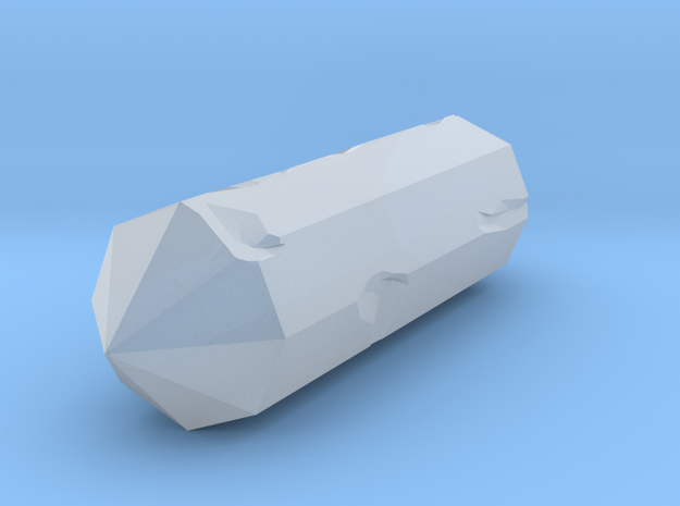 Broken Crystal in Smooth Fine Detail Plastic