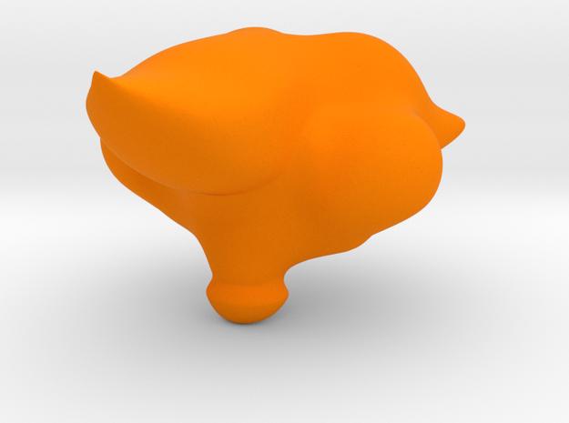 Cleromancy Token- Wily/Foxy/Intelligence/Attractiv in Orange Processed Versatile Plastic