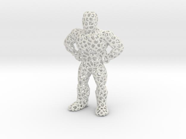 Meshman in White Strong & Flexible