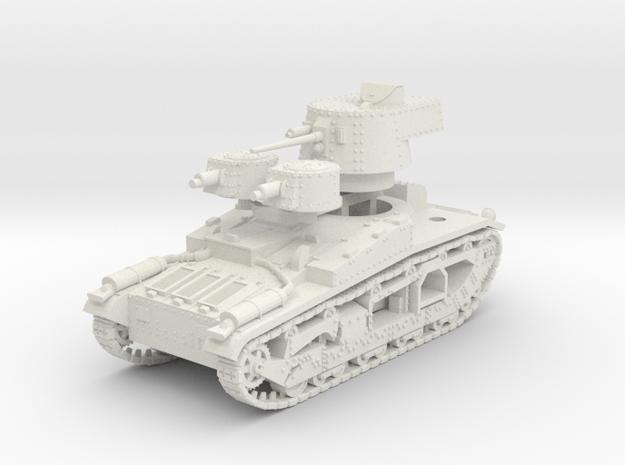 Vickers Medium Mk.III 15mm in White Natural Versatile Plastic