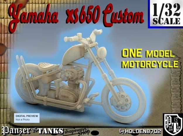 1-32 Yamaha XS650 Custom