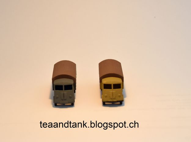 1/144 Renault AHN truck in White Strong & Flexible