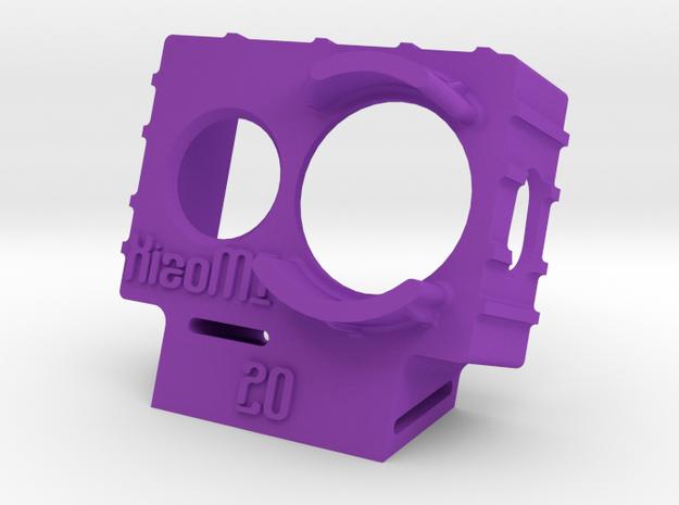 XiaoMI Yi Wedge Case (20deg) in Purple Strong & Flexible Polished