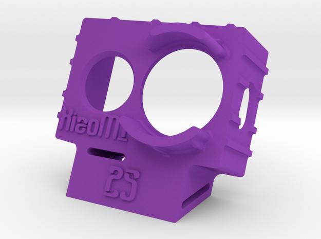 XiaoMI Yi Wedge Case (25deg) in Purple Strong & Flexible Polished