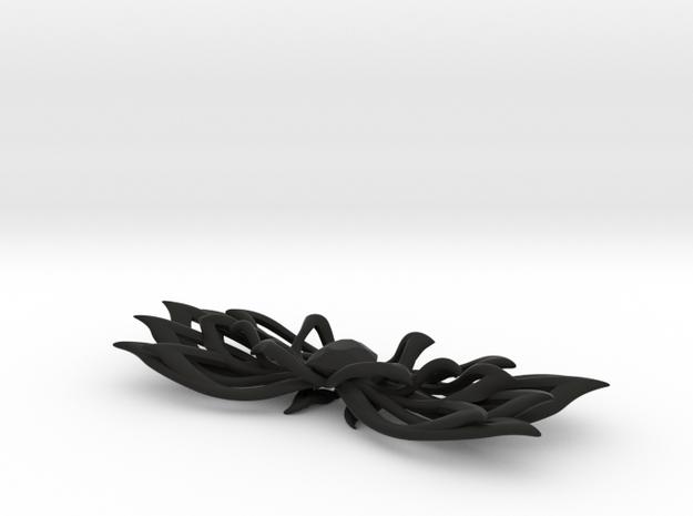 Bow tie/ ties in Black Natural Versatile Plastic