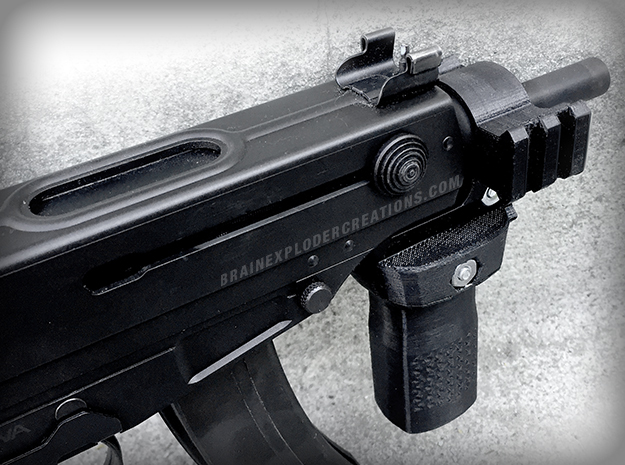 KWA/KSC KZ61 Skorpion Triple Rail Adapter