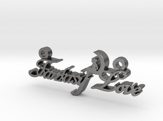 Fantasy Love® Pendant in Polished Nickel Steel
