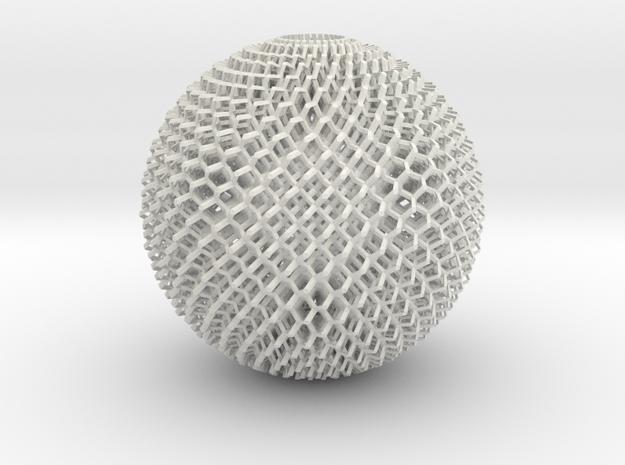 Diamond Sphere in White Strong & Flexible