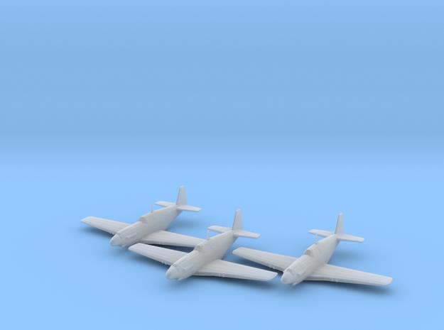 North American A-36 'Apache' 1/200 x3 FUD in Smooth Fine Detail Plastic