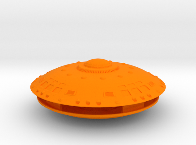 5 Inch-Round Dome AECV-Snap Kit W Lights! 3d printed