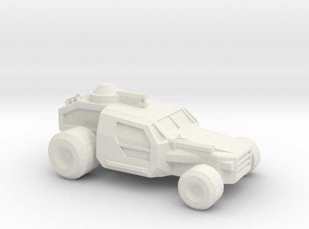 Thunder Road Buggy  in White Natural Versatile Plastic