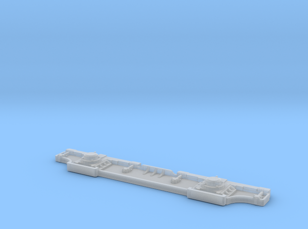 Chassis for locomotives Tu 3 in Smooth Fine Detail Plastic