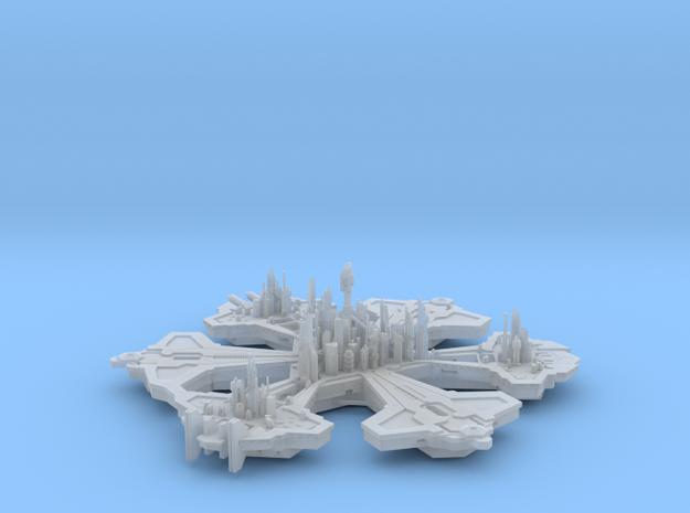 Stargate Atlantis city - 9cm FUD in Smooth Fine Detail Plastic