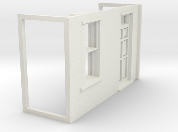 Z-152-lr-house-rend-tp3-rd-sash-rg-1 in White Natural Versatile Plastic