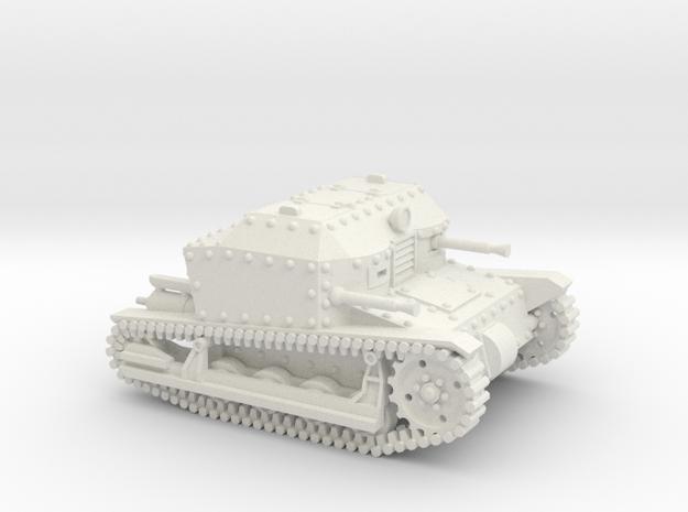 Tancik Vz33 Tankette in White Natural Versatile Plastic: 1:100