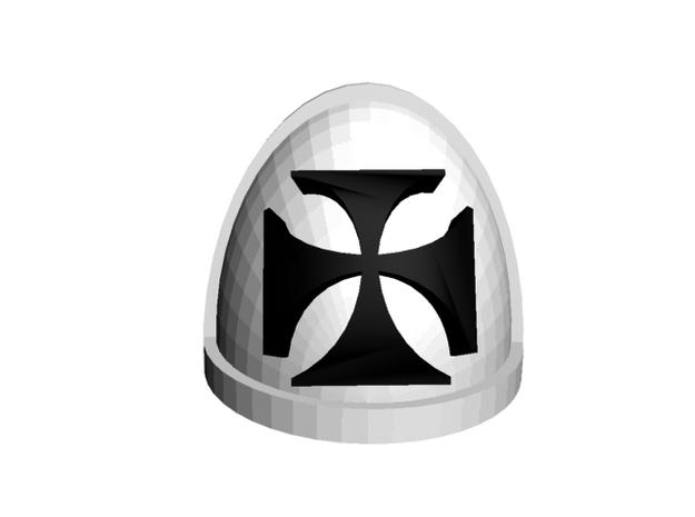 Teutonic shoulder pads