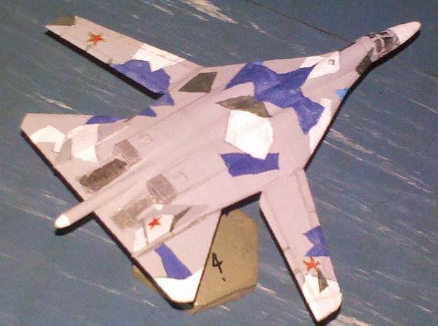 1/300 Russian PAK DA Bomber 3d printed Model printed in WSF and painted