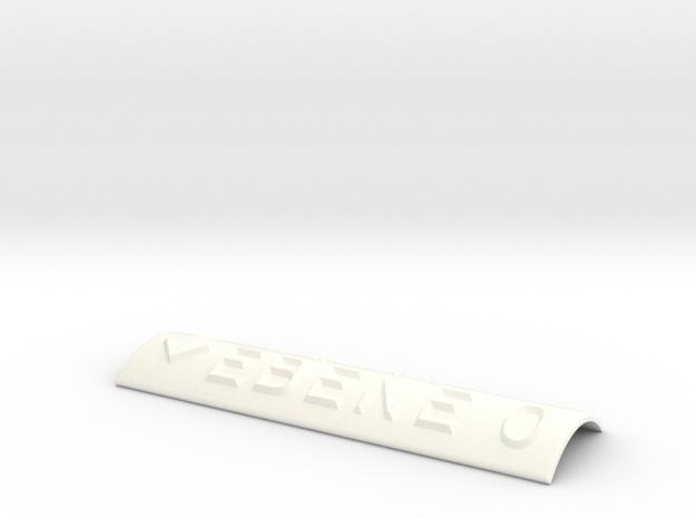 EBENE 0 mit Pfeil nach unten in White Processed Versatile Plastic