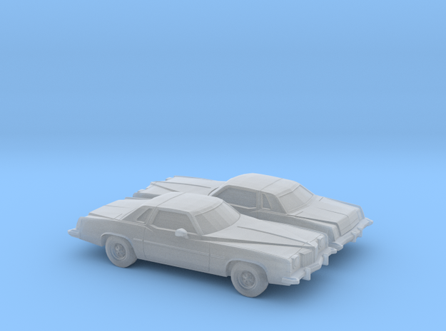 1/160 2X 1973-75 Pontiac Grand Prix in Frosted Ultra Detail