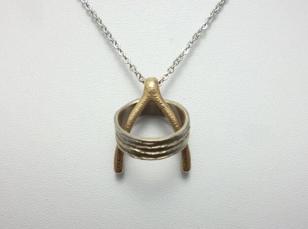 Wishbone in Stainless Steel