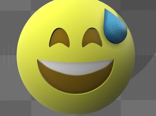 Emoji9 in Full Color Sandstone