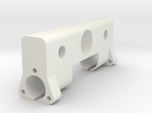 CNC Side mount in White Strong & Flexible