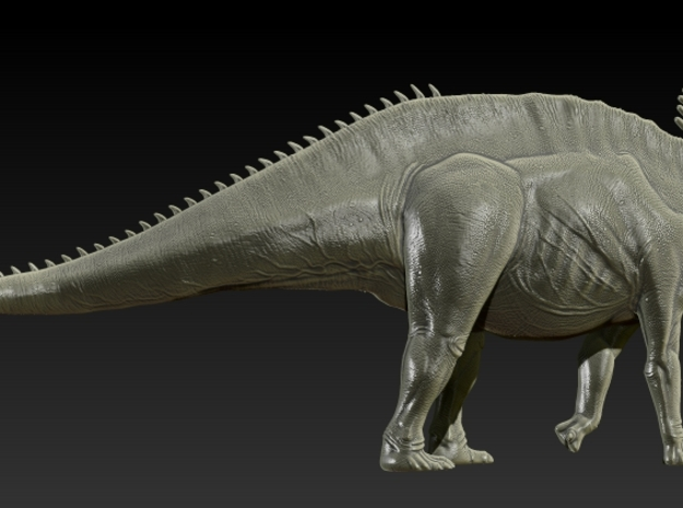 1/40 Amargasaurus - Walking 2
