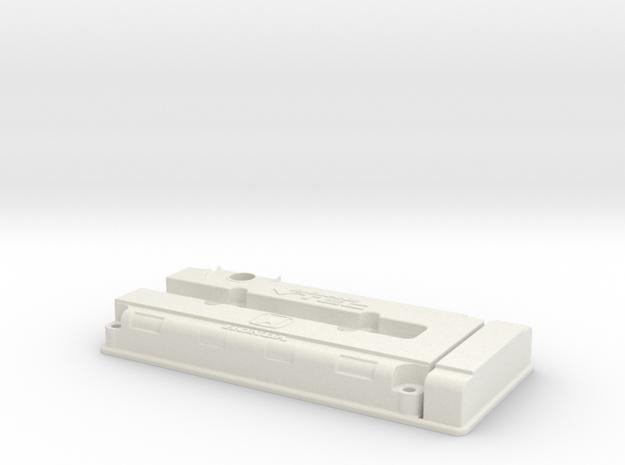 Honda B Series VTEC Valve Cover in White Strong & Flexible