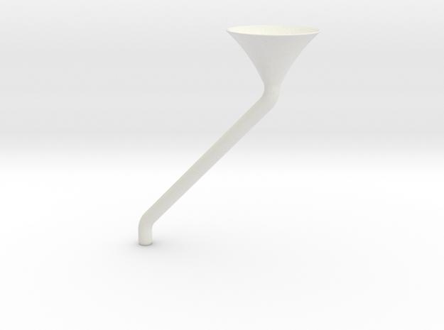Special  Funnel - Spezialtrichter in White Natural Versatile Plastic