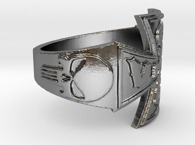 VMRSG_v2 Ring Size 12 in Polished Silver