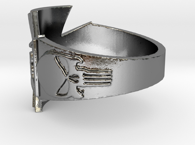 VMRSG_v2 Ring Size 14 in Polished Silver