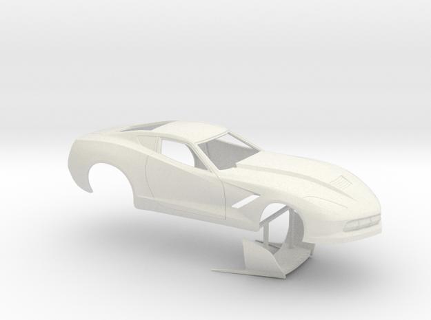 1/12 2014 Pro Mod Corvette No Scoop
