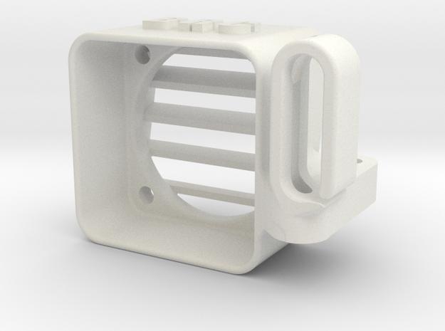 YZ4 - Speedo Fan Cooler & Wire Guide ( 25x25mm ) in White Strong & Flexible