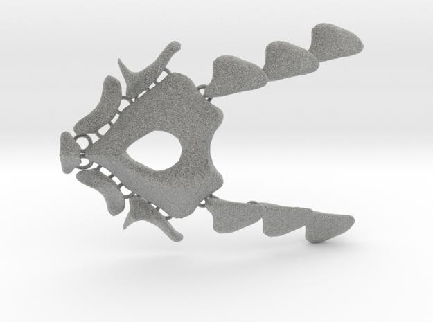 NeoNordic Bone necklace  in Metallic Plastic