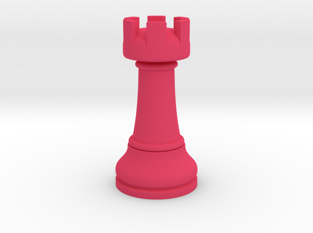 02Rook Small Single in Pink Processed Versatile Plastic