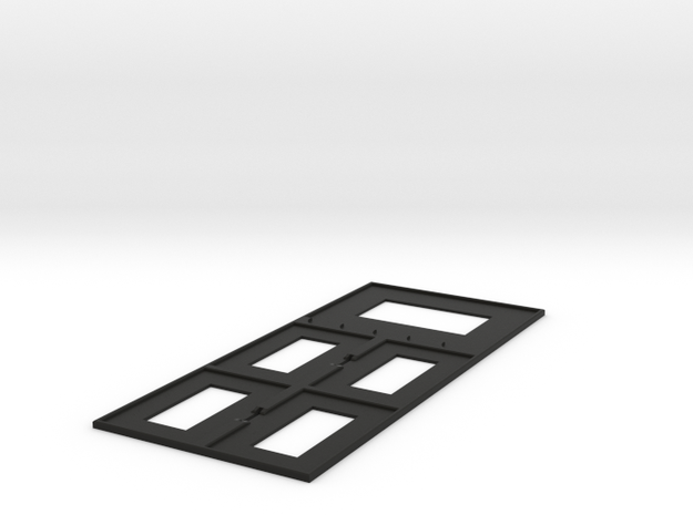 Guild Panel Deluxe in Black Natural Versatile Plastic