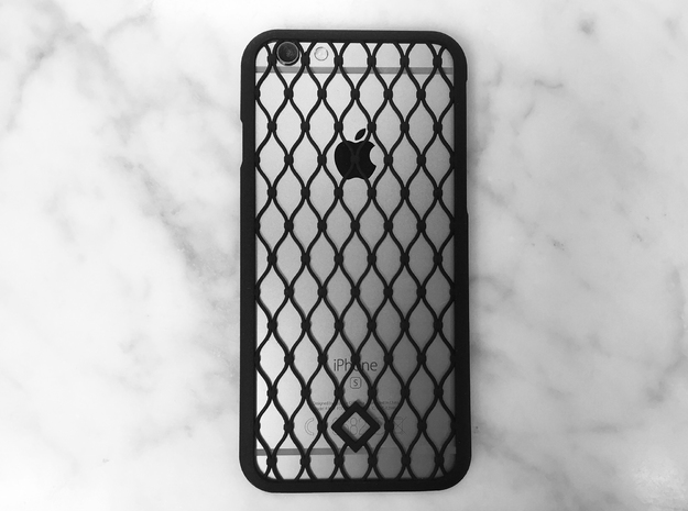 Fence - iPhone 6S Case in Black Strong & Flexible