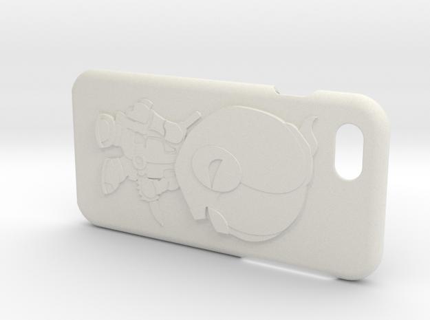 Deadpool iPhone 6s Case in White Natural Versatile Plastic