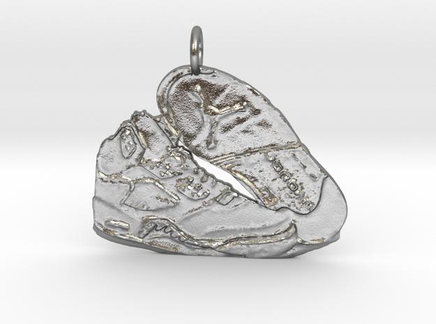 AJ5 Pendant in Natural Silver