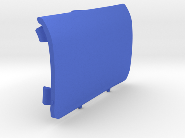 Rear-Right Saab Jack Point Cover in Blue Strong & Flexible Polished