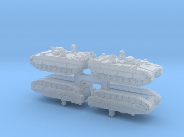 1/350 CV90 Armadillo APCs (4pcs)