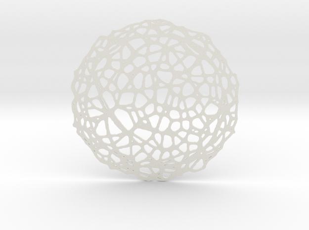 Drink coaster - Voronoi #5 (8 cm)
