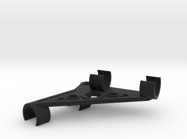ORTF Stereo Mic Clip 21mm  in Black Natural Versatile Plastic