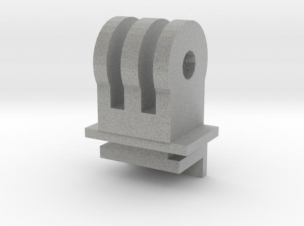 ZeroEdge Dash Cam Adapter for Go Pro Mount in Metallic Plastic