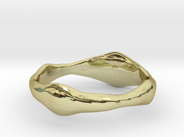 Dog Ring in 18k Gold Plated