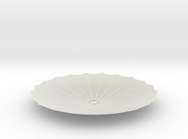 HGA - Parabola in White Natural Versatile Plastic